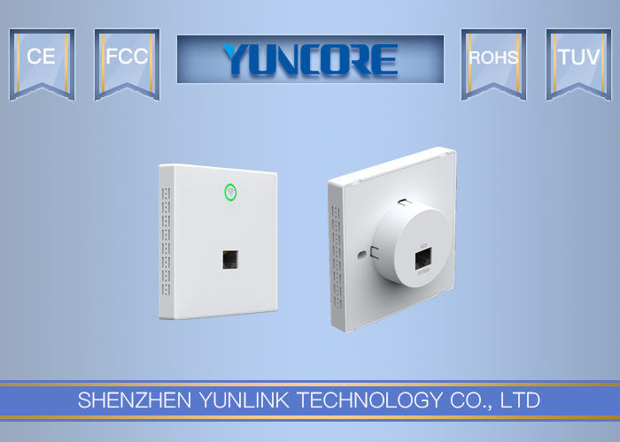 AC750 Dual-Band Wall Plate Wireless Access Point with Euro Size For Office, Hotel, Home WiFi - Model PW650